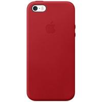 Чехол для iPhone Apple iPhone SE Leather Case RED